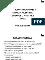 Microcontroladores II en c. Tema 1