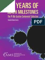 100 Years of Math Milestones  9781470436520.pdf
