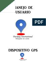 MANEJO DE USUARIO TRACKING INTE2
