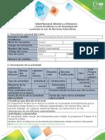 Guía para el uso de recursos educativos - Fase 4 - desarrollar un proyecto de un diseño experimental