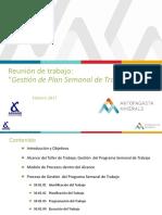 Presentación Gestión del Plan Semanal de Trabajo AMSA 14 02 2017.pptx