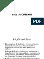 Rheumatoid Arthritis, Osteoarthritis & Gout