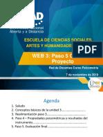 Diapositivas Web No. 3 Psicometria 7 de noviembre 2019