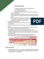Patofisiologi Atherosklerosis