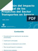 EVALUACION AMBIENTAL DEL SECTOR TRANSPORTE - PERU