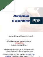 2. Aturan Dasar Lab
