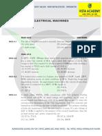 ELECTRICAL MACHINES - VISTA ADACEMY