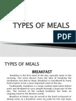 Types of breakfast