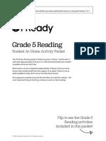 Iready at Home Activity Packets Student Ela Grade 5 2020