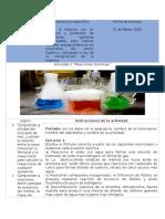 descripción de la actividad 2 unidad 3 Reacciones Qcas..docx