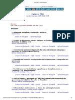 A Estranha Derrota Pela História e Pela França, o testemunho de Marc Bloch resenha. Cadernos do CRH Online, v. 25, p. 167-169, 2012..pdf