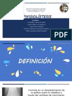 Epifisiolistésis