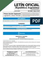Decreto - Coronavirus