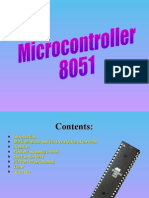 Microcontroller 8051-2