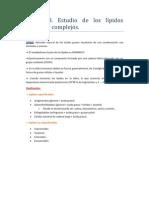 Tema 58 Lípidos Concepto, clasificación, importancia biológica y características esenciales