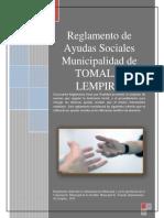 Reglamento de Ayudas Sociales de la Municipalidad de Tomala Lempira
