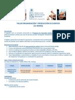 programa organizacion y produccion de eventos