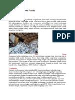Pengolahan Limbah Plastik