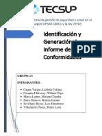 GRUPO 28 - Generación de Informe No Conformidades