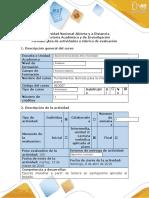 Guía de actividades y rúbrica de evaluación - Fase 3 - Interpretación de partitura aplicada a piano