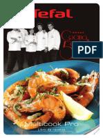 Multicook Pro. Libro de recetas