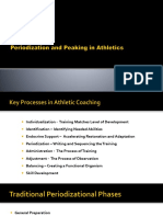 Periodization and Peaking in Athletics