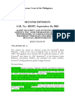 Alert SEcurity and Investgation agency inc. vs Pasawilan