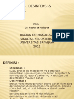 Sterilisasi, Desinfeksi & Antiseptik PSKG