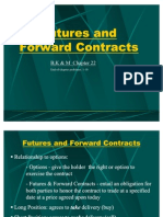 Futures and Forward Contracts-MBA2010