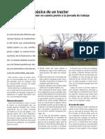 Mantenimiento basico de un tractor