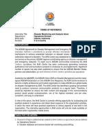 TOR Internship Disaster Monitoring and Analysis Intern