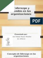 Liderazgo y cambio en las organizaciones CAP 5