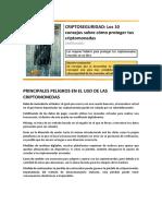 Resumen Del Libro Criptoseguridad Publicado en AMAZON