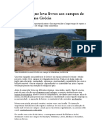 O projeto que leva livros aos campos de refugiados na Grécia - Leitura