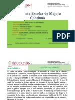 Ruta de Mejora Escolar 2019-2020 ALVARO OBREGON     DIGITALMENTE