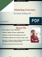 Module 1 Digital Marketing Overview