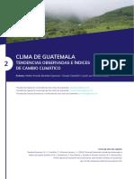 Capitulo clima Guatemala