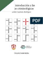 Breve introduccion a las teorias criminolgicas - Cayetano, Moises