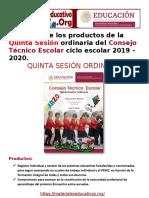 FormatosProductosCTEBasica5taSesion