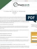 7 CLAVES DEL COLOR, EL VALOR DEL COLOR
