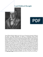 Hegel, Social and Political Thought - IEP