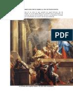 VISIONES DE MARÍA VALTORTA SOBRE EL DÍA DE PENTECOSTÉS