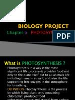 BIOLOGY PROJECT  KB