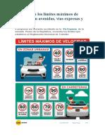 Cuáles son los límites máximos de velocidad en avenidas.docx