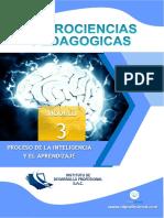 Módulo 3.Proceso de la inteligencia y el aprendizaje (neurociencia aplicada a la pedagogía)......pdf