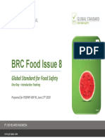 Introduction Training_BRC Food Issue 8 (1 Day)