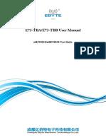 E73-TBX_UserManual_EN_v1.0(1)