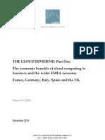 Cloud Dividend Report