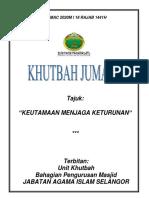 KEUTAMAAN MENJAGA KETURUNAN editted-1
