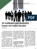 10 Cuidados Em Redes Sociais